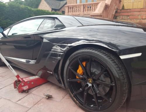 Lamborghini Aventador Mobile Car Body Repair Manchester