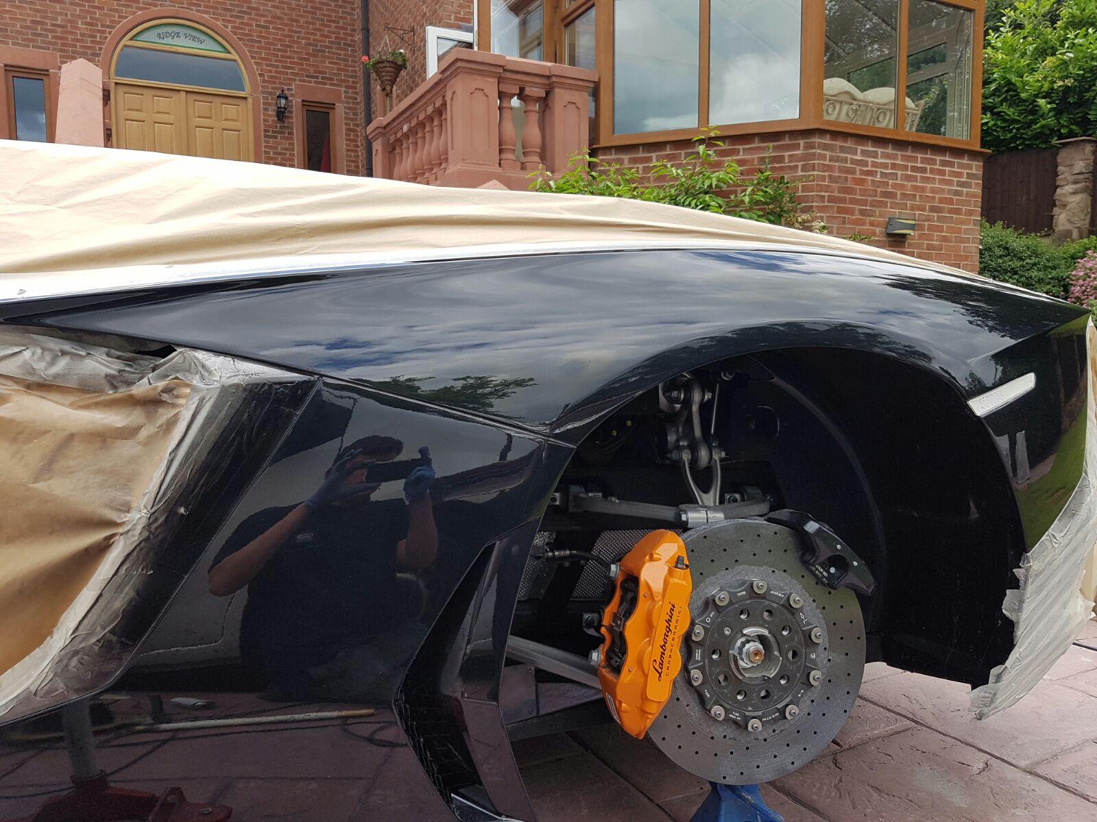 lamborghini aventador mobile car body repair manchester smart auto repairs. Black Bedroom Furniture Sets. Home Design Ideas